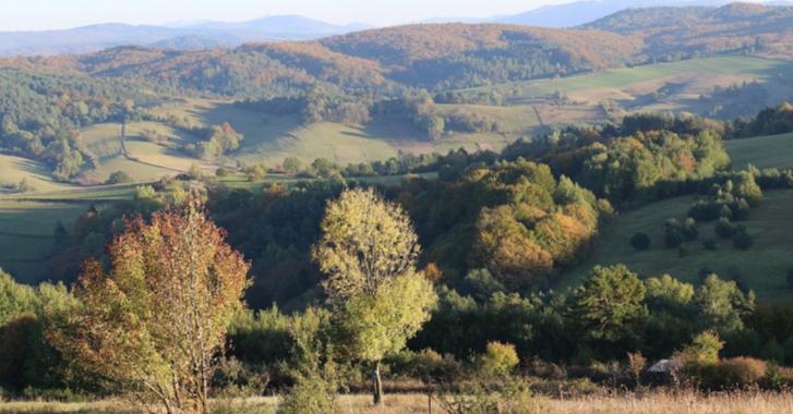 Góra Miłosierdzia w miejscowości Łukowe w Bieszczadach